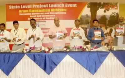 State Launch Of Gram Swashashan Abhiyaan