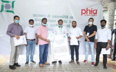 PHIA Foundation Extends Support To Health Workers Of Government Of Jharkhand With Support From APPI