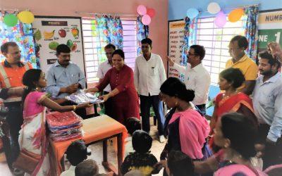 Inauguration Of Anganwadi Centres In Chhatand Panchayat, Block- Baliapur, District- Dhanbad